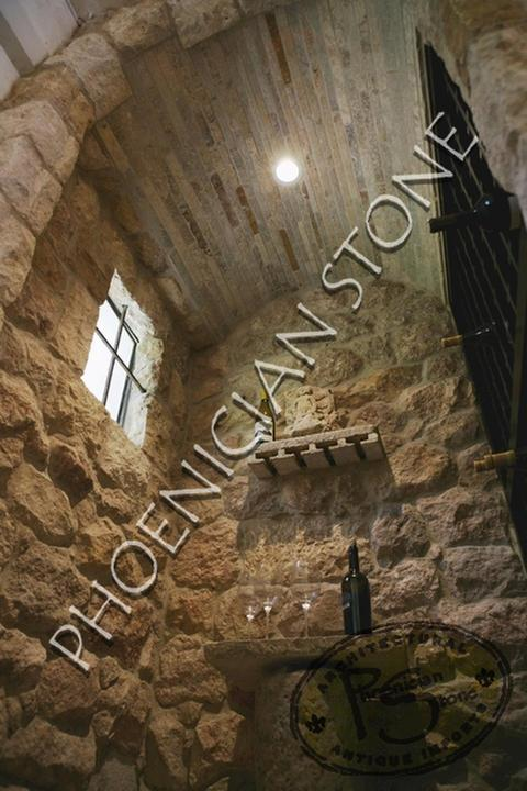 Wine Cellars Design By Phoenician Stone Wine Cellar Ceilings