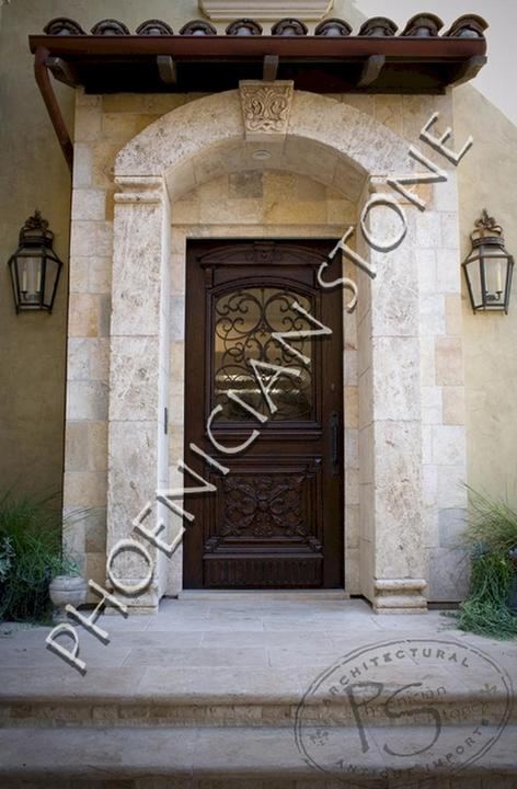 Wine Cellars Design by Phoenician Stone : Wine Cellar Entryways